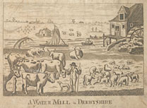 A Watermill in Derbyshire, 1706