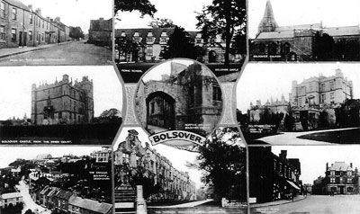 Bolsover Multiview Postcard